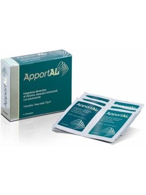 Apportal 14 Bustine - Integratore Vitamine Minerali e Aminoacidi