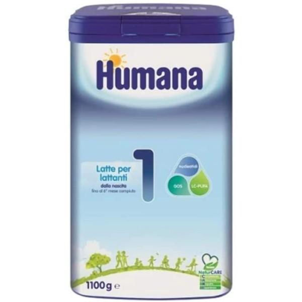 Humana 1 Latte in Polvere 1100 grammi
