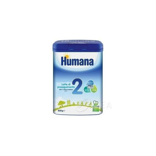 Humana 2 Latte in Polvere 800 grammi