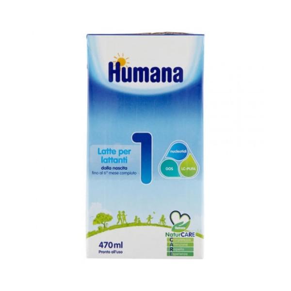 Humana 1 Latte Liquido 470 ml