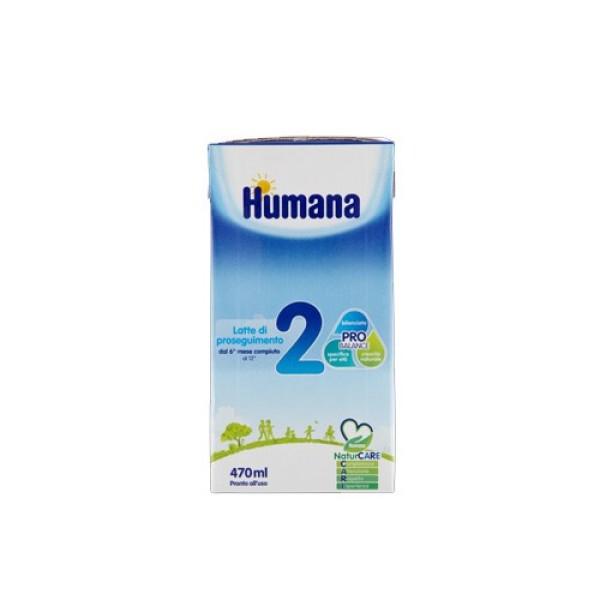 Humana 2 Latte Liquido 470 ml