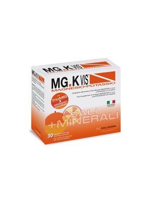 MG K Vis Magnesio e Potassio Orange 30 Bustine - Integratore Sali Minerali