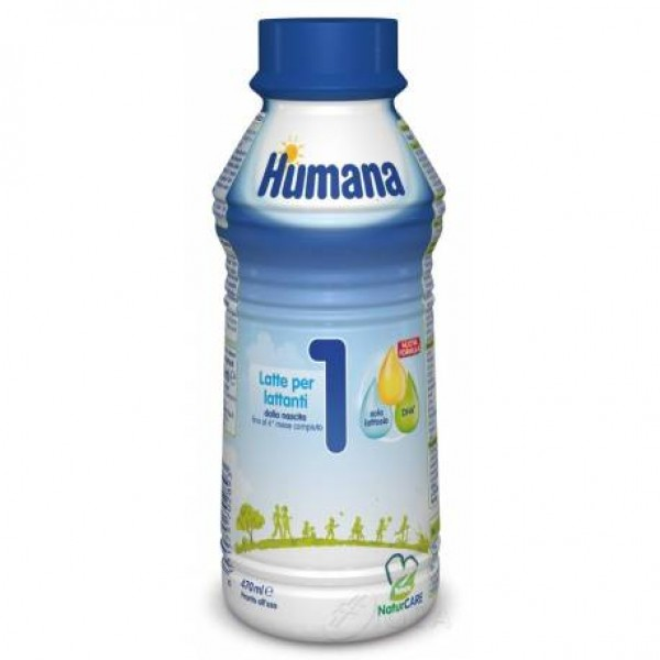 Humana 1 Probalance Latte Liquido 470 ml