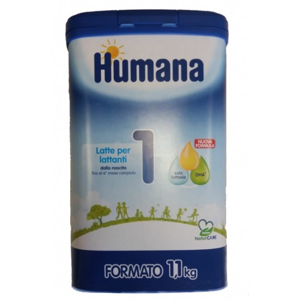 Humana 1 Probalance Latte in Polvere 1100 grammi