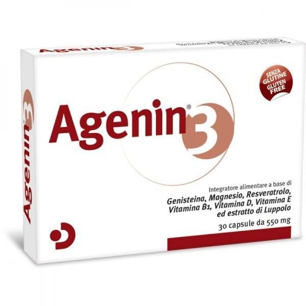 Agenin 3 Integratore Alimentare 550mg 30 capsule