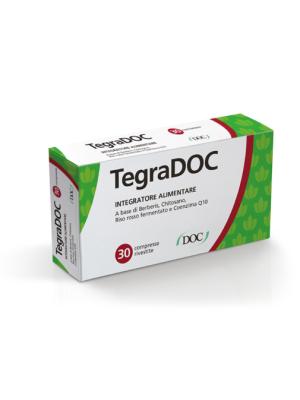 Tegradoc 30 Compresse - Integratore Colesterolo con Riso Rosso Fermentato