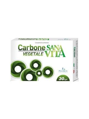 Sanavita Carbone Vegetale Integratore 30 Compresse