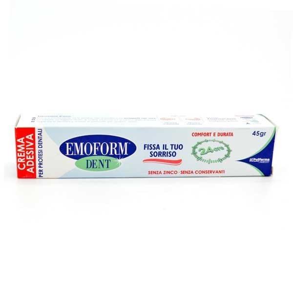 Emoform Dent Crema Adesiva per Protesi Dentali 45 grammi