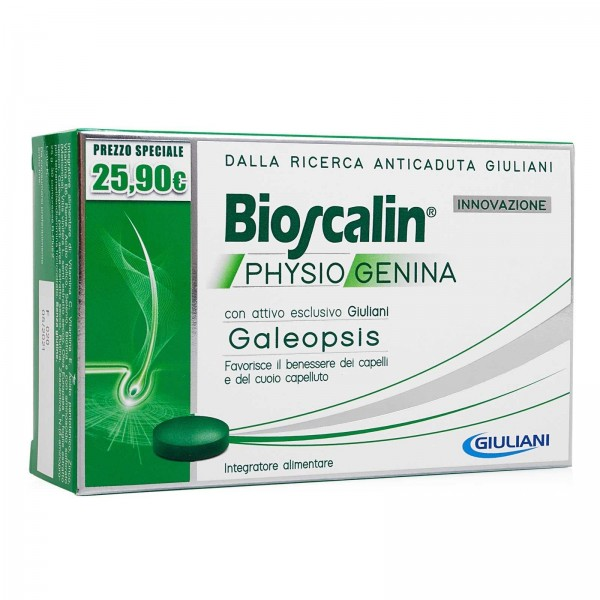 Bioscalin Physiogenina Anticaduta Capelli 30 Compresse