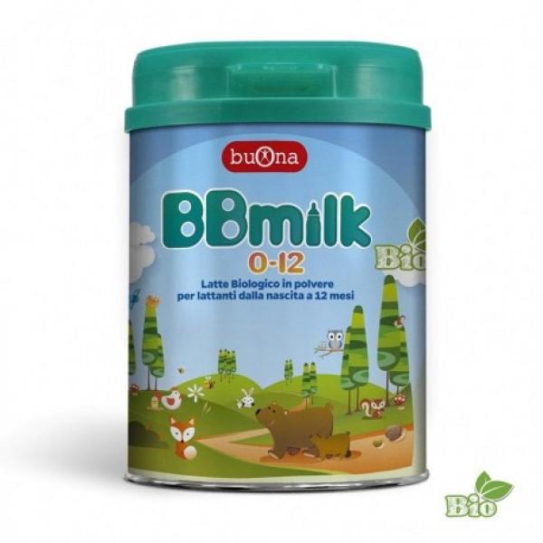 BBMILK 0-12 BIO POLVERE 750G