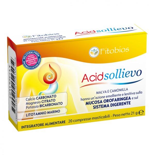 Acid Sollievo 20 Compresse Masticabili  - Integratore Alimentare