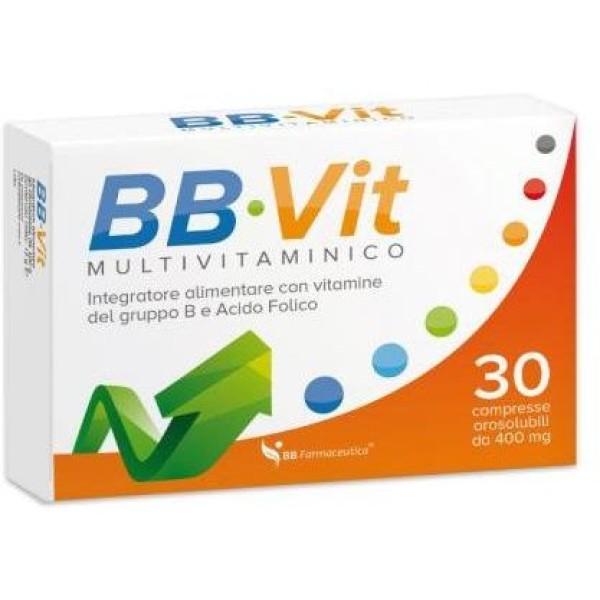 BB Vit 30 Compresse - Integratore Multivitaminico