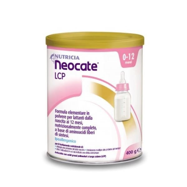 Neocate LCP Polvere Ipoallergenica per Lattanti 0-12 Mesi 400 grammi