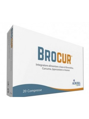 Brocur Integratore Bromelina 20 Compresse