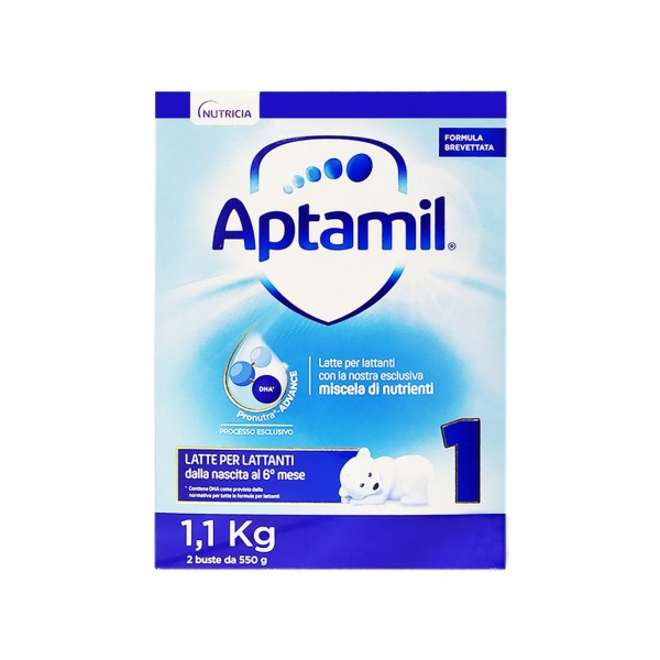 Aptamil 1 Latte in Polvere 1100 grammi