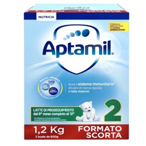 Aptamil 2 Latte in Polvere 1200 grammi