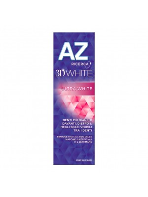 Az 3D White Ultra White Dentifricio Sbiancante 65+10 ml