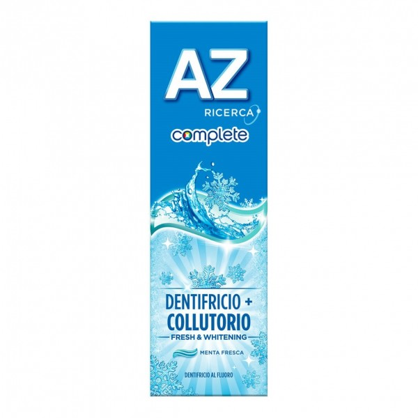 Az Complete Fresh & Whitening Dentifricio + Collutorio 75 ml
