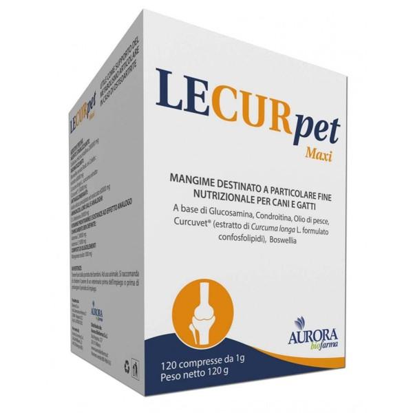 Lecurpet Maxi Integratore Veterinario 120 Compresse