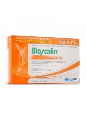 Bioscalin Sole Integratore Alimentare 30+10 compresse