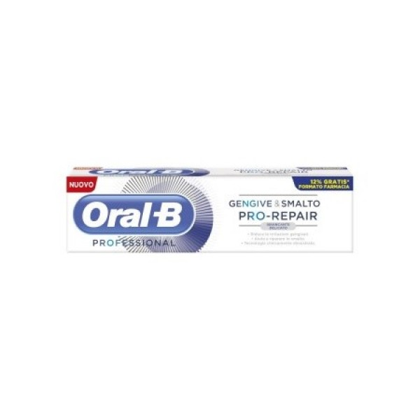 Oral B Pro Repair Gengive e Smalto Dentifricio Sbiancante 85ml
