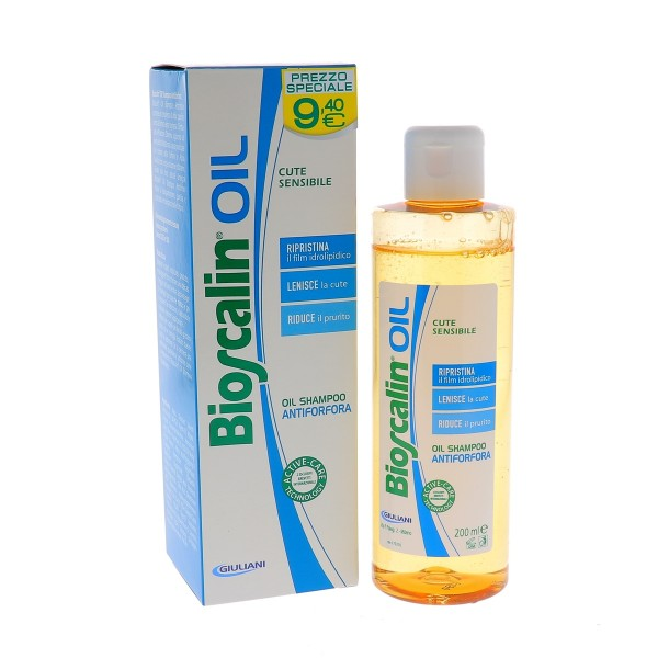 Bioscalin Oil Shampoo Antiforfora 200ml