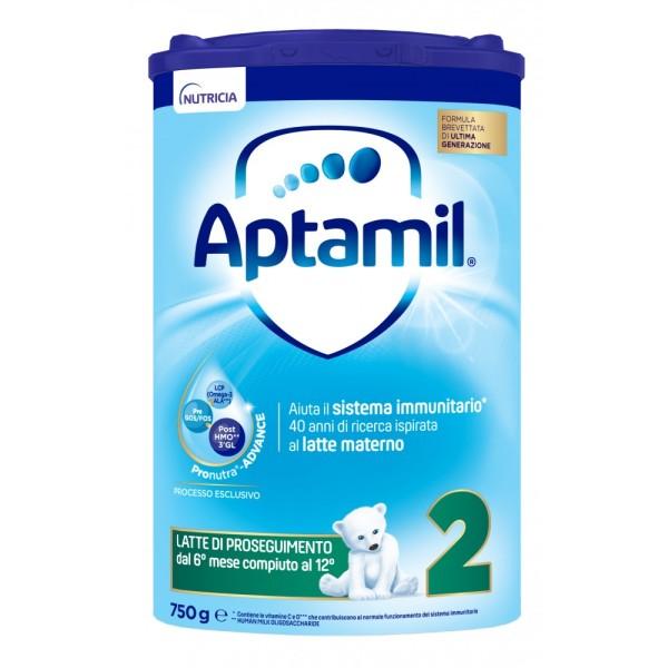 Aptamil 2 Latte in Polvere 750 grammi