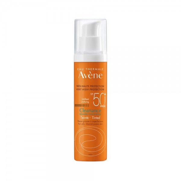 Avene Solare Cleanance Crema Colorata SPF 50+ Protezione Viso 50 ml