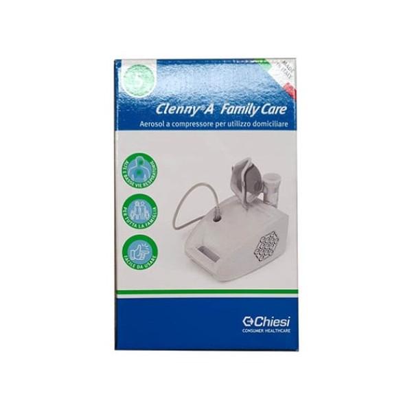 Clenny A Family Care Nebulizzatore Aerosol a Compressore Professionale per Utilizzo Domiciliare