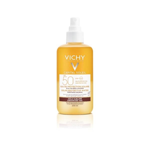 Vichy Capital Soleil Acqua Solare SPF 50+ Abbronzatura Intensa 200 ml