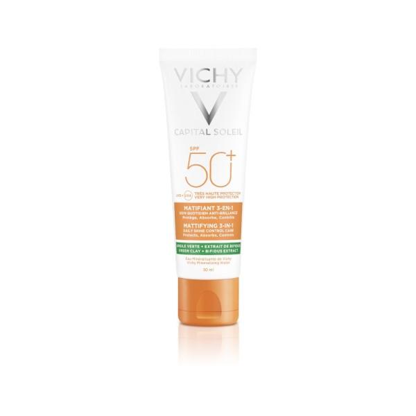 Vichy Capital Soleil Solare Opacizzante SPF 50+ 50 ml