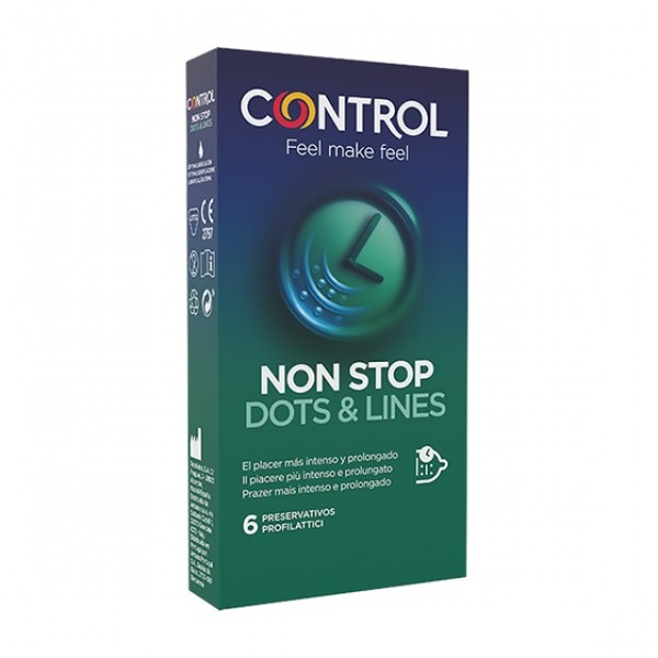 Control Non Stop Dots & Lines 6 pezzi