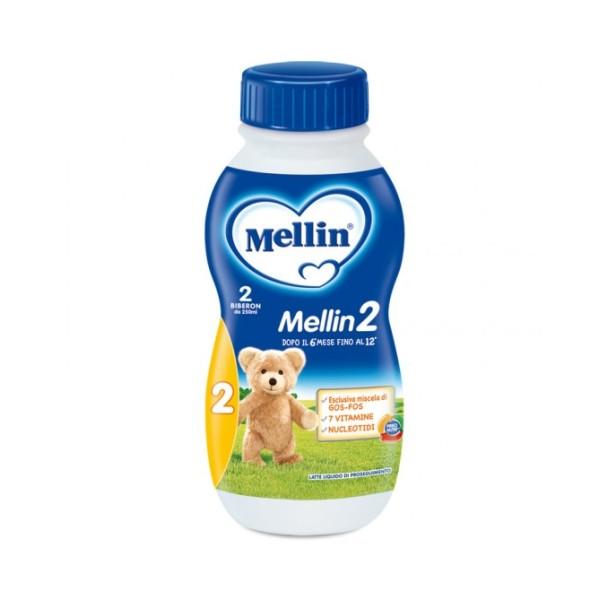 Mellin 2 Latte Liquido 500ml