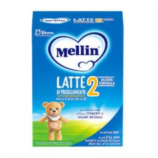 Mellin 2  Latte in Polvere 1200 grammi