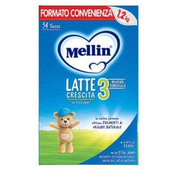 Mellin 3  Latte in Polvere 1200 grammi