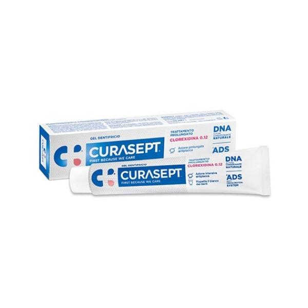 Curasept Gel Dentifricio 0,12% Clorexidina Trattamento Prolungato 75 ml
