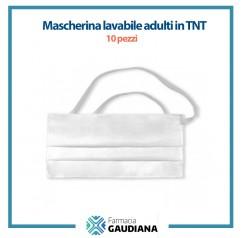Mascherina Lavabile adulti in TNT confezione da 10 pezzi