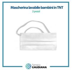 Mascherina Lavabile bambini in TNT Confezione da 2 pezzi