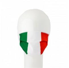 Mascherina Lavabile per adulti colore Bandiera Italiana 2 pezzi