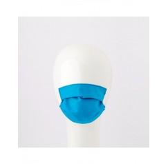 Mascherina Lavabile per bambini colore Turchese 2 pezzi