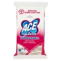 Ace Salviette Igienizzanti ed Antibatteriche con Alcool profumate 40 pezzi