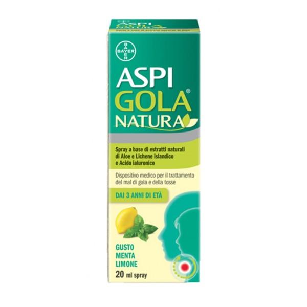 Aspi Gola Natura Spray Limone e Menta 20ml