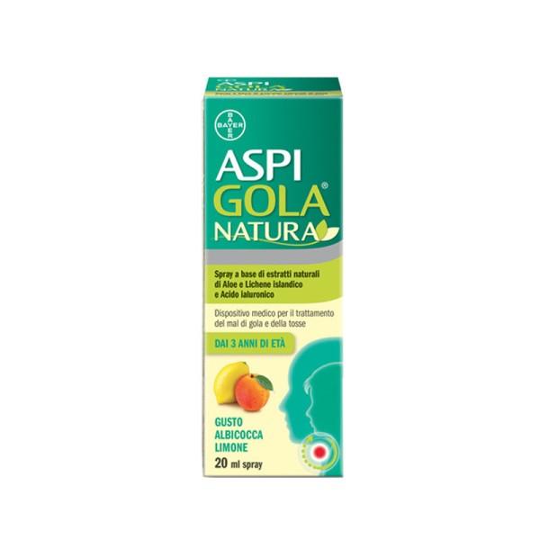 Aspi Gola Natura Spray Albicocca e Limone 20ml
