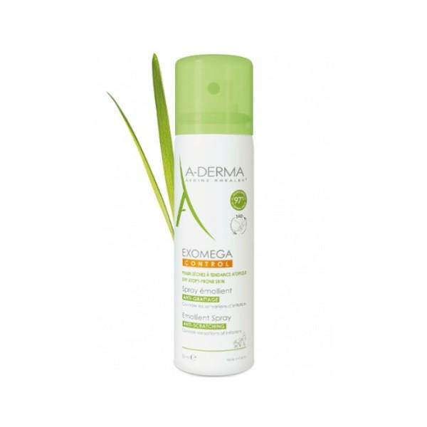 A-Derma Exomega Control Spray Emolliente Anti-Grattage 50 ml