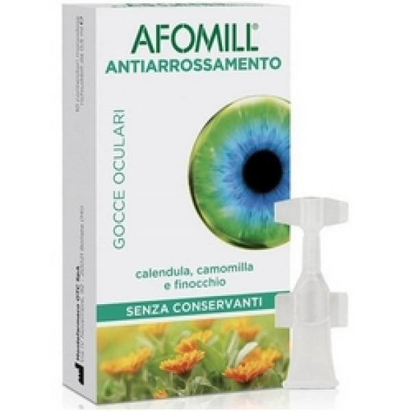 Afomill Antiarrossamento Gocce Oculari 10 Flaconcini Monodose