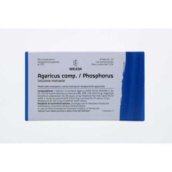 Weleda Agaricus Phosphoricus Compositum 8 Fiale - Medicinale Omeopatico
