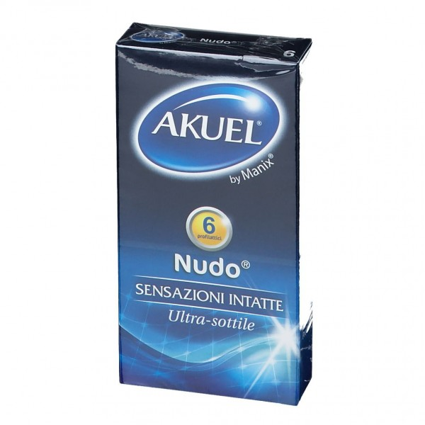Akuel Nudo 6 Profilattici Super Sottili