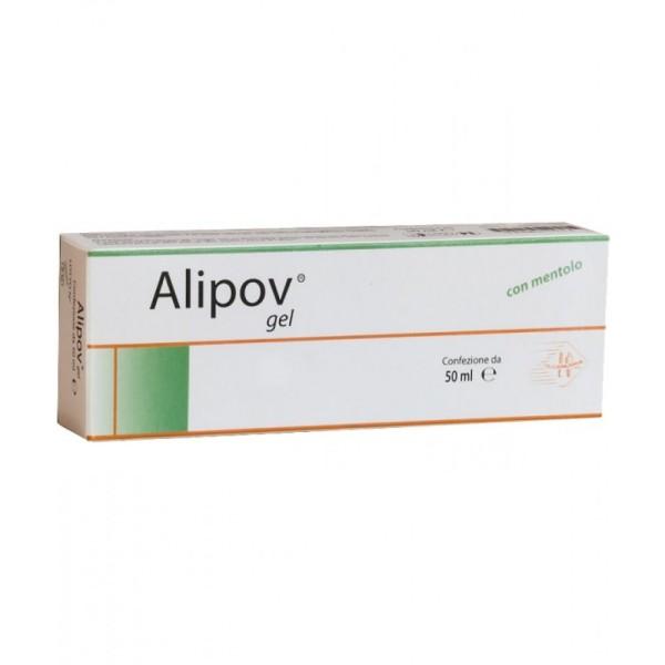 Alipov Gel con mentolo 50ml