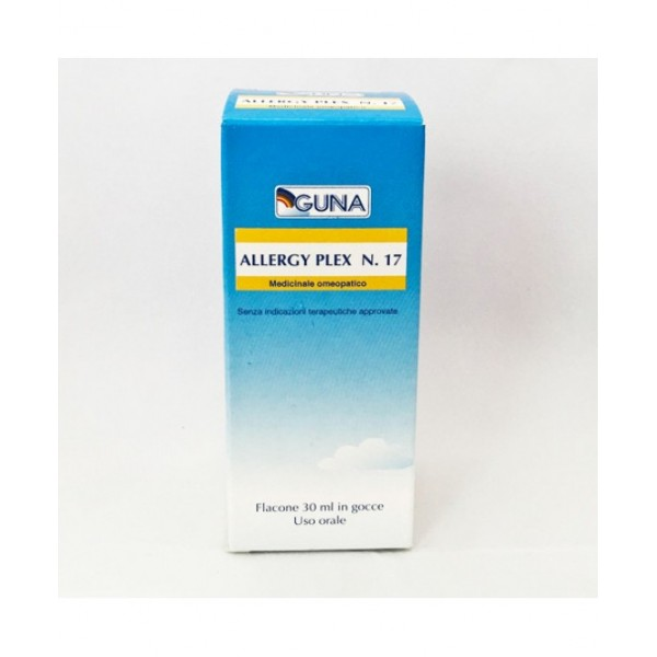 Guna Allergy Plex 16 Veg IV Gocce 30 ml - Medicinale Omeopatico