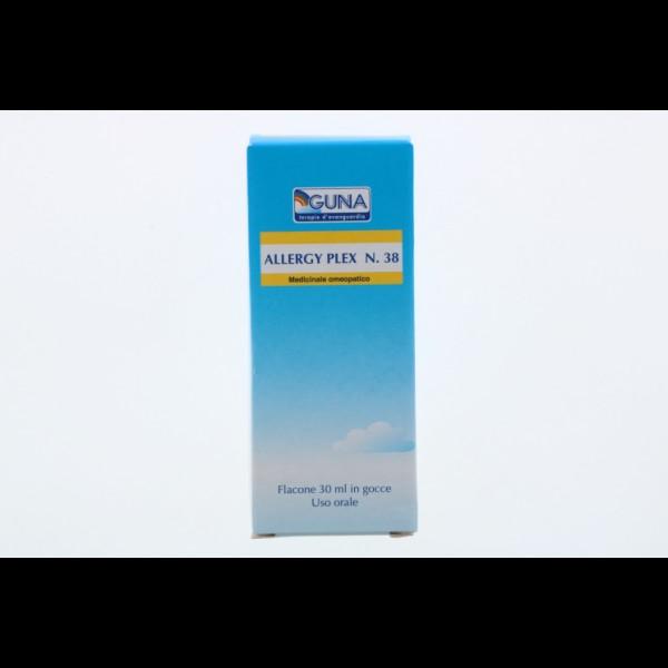 Guna Allergy Plex 38 Insetti Gocce 30 ml - Medicinale Omeopatico